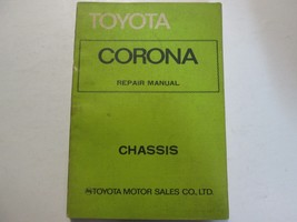 1974 Toyota Corona Chassis Service Repair Shop Manual Series Factory OEM... - $21.73