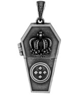 YTC Summit Coffin Crown Pendant Collectible Medallion Necklace Accessory... - $14.84