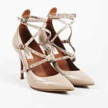 "Valentino Garavani Leather ""Love Latch"" Pointed Pumps SZ 36.5 - $535.00"