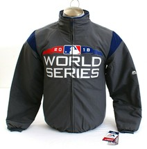 Majestic Gray 2018 World Series Zip Front Insulated Jacket Men's NWT - $44.99