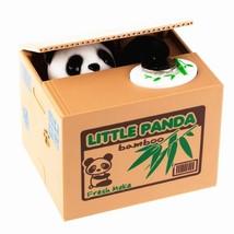 Xubox Stealing Coin Panda Box, Cute Panda Stealing Coin Money Box Piggy ... - $17.60