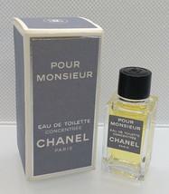 Mini Eau Toilette Concentrée ✿ Chanel Pour Monsieur ✿ Parfum Perfume (Edt. 4ml.) - $16.09