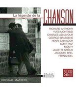 La Legende de la Chanson [Audio CD] Gilbert Becaud; Yves Montand; Edith ... - $7.43