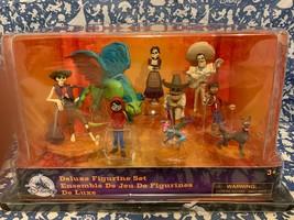 New Disney Store  Deluxe Coco Figurine Play Set New - $47.93