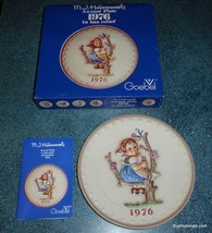 """Hummel Annual Plate 1976 Apple Tree Girl """"Spring"""" Hum # 269 Great Gift For Mom!  - $11.63"""