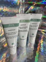 Lot Of 3 Evercalm Ultra Comforting Rescue Mask 10mL Clean Skincare + Free TONER image 2
