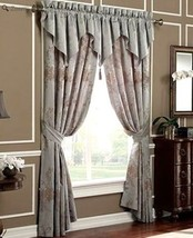 Waterford DIANTHUS Mineral Blue Ascot Valance 2avail - $36.05