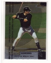 1999 Topps Finest #203 Paul Konerko Chicago White Sox Collectible Baseba... - $0.99