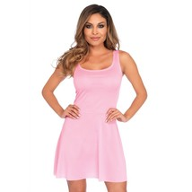 Leg Avenue Basic Skater Style Women's Adult Costume Dress Pink Small - $21.99