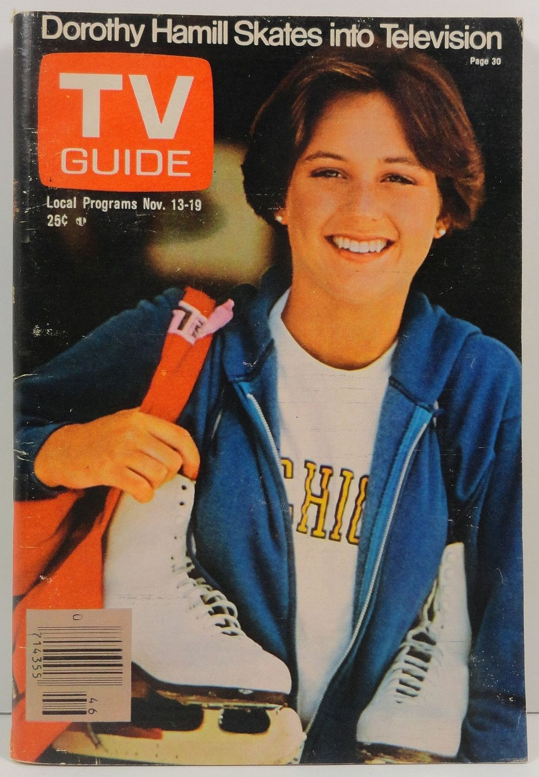 Primary image for TV Guide Magazine November 13, 1976 Dorothy Hamill Cover