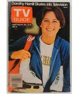 TV Guide Magazine November 13, 1976 Dorothy Hamill Cover - $3.99