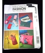 McCall's Pattern 5012 Tote & Purse Fashon Accessories - $3.00