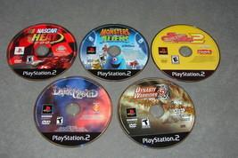 Playstation 2 PS2: 5 Game Lot - Dark Cloud + Monsters vs Aliens + Dynast... - $14.00