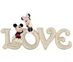 Lenox Disney Mickey & Minnie Mouse True Love Figurine New In Box - $69.90