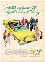 Vintage 1957 Magazine Ad Pontiac Engineered The Biggest News In V-8 History - $5.93