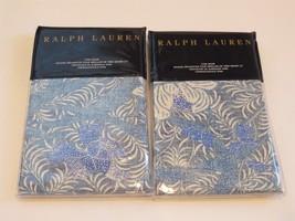 2 Ralph Lauren Meadow Lane Kaley King Shams $290 - $116.35