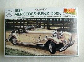 FACTORY SEALED Johan 1934 Mercedes-Benz 500K Special Sports Roadster #GC... - $38.60