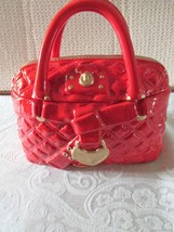 David's Cookies Cookie Jar - Small Red Quilted Purse - NEW!!!! - $14.99