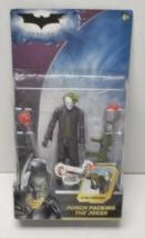 Punch Packing The Joker Batman The Dark Knight 2007 Action Figure Mattel... - $29.69