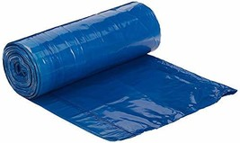 AmazonCommerical 13 Gallon Blue Recycling Bags /w Drawstrings - 0.7 MIL - 45 Cou