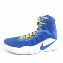 Nike Zoom Womens 7.5 Hyperdunk 2016 TB Basketball Shoes Blue 844391-441 - $26.49