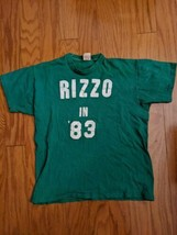 1980s Vintage Rizzo in '83 Green Logo Russell Athletic USA T-Shirt Cotto... - $74.79