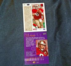 San Francisco 49er's Steve Young #8 QB Football Trading Cards AA-191806 Vintage image 6
