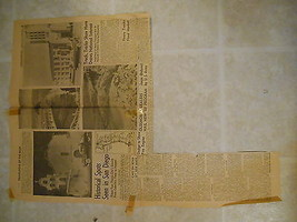 Vintage News Clipping San Diego Spots CA Travelogue Caravan Studebaker C... - $9.99
