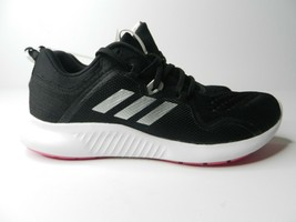 Women's Adidas Edgebounce Running Shoe Black/White/Shock Pink sz 9.5 - $49.50