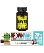 Protein Bar | Magnesium | Coconut | Whey & Milk Protein | TEN Horny Goat... - $12.86