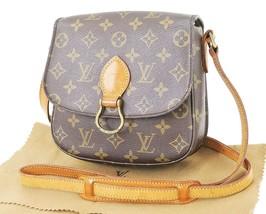 Authentic LOUIS VUITTON Saint Cloud MM Monogram Shoulder Bag #32905 - $559.00