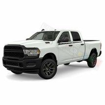 Mirror Edge Line Doors Stripes Wrap Decal Sticker for Dodge Ram Crew Cab... - $48.75