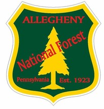 Allegheny National Forest Sticker R3194 Pennsylvania YOU CHOOSE SIZE - $1.45+
