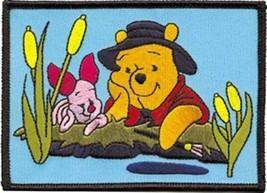 Walt Disney's Winnie the Pooh with Piglet Figures Patch, NEW UNUSED - $7.84