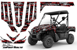 UTV Graphics Kit Decal Sticker Wrap For Kawasaki Teryx 750 2007-2009 SSSH RED BK - $395.95