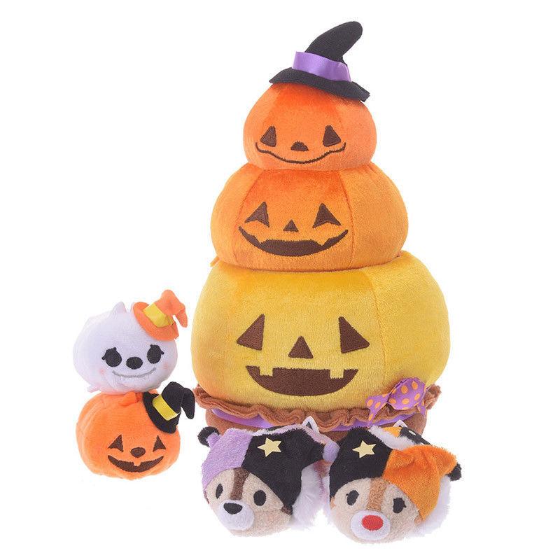 Pumpkin Chip /& Dale Tsum Tsum Set Halloween 2019 Disney Store Japan US Seller FS