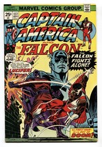 CAPTAIN AMERICA #177 comic book1974-FALCON-LUCIFER VF/NM - $37.83