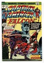 Captain America #177 Comic book1974-FALCON-LUCIFER VF/NM - $37.83