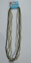 Costume Jewelry Long Bead Necklaces, 4 Strands - $1.07