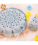 DIYHouse® 10pcs/lot Wedding Candy Box Romantic Pink Tiffany Blue Paperboard - $5.28