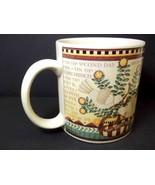 Debbie Mumm stoneware coffee mug 12 Days of Christmas Sakura 10 oz - $6.76