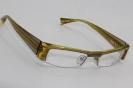 New Alain Mikli Al 0650 16 Yellow Eyeglasses Authentic Rx A0650 50-19 W/CASE - $96.33
