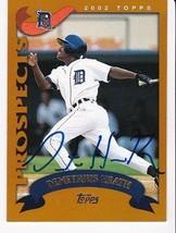 Demetrius Heath Autographed Card 2002 Topps Prospects - $3.73