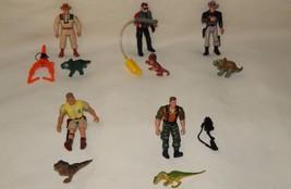 1993-97 JURRASIC PARK LOST WORLD Action Figures & Baby Hatchling Dinosau... - $56.95