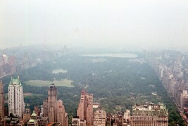 1964 NYC Scenic View Fifth Ave West Side 35mm Slide Central Park - $29.69