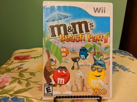 M&M's Beach Party (Nintendo Wii, 2009) Good Condition (No Manual) - $9.89