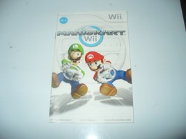 Mario Kart Wii (Nintendo Wii) - Instruction Booklet Manual [NO Game or Case)] - $5.82