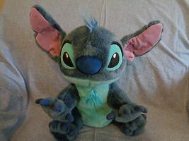 "Disney Large Lilo & Stitch Soft Plush Stitch Toy No Tags 14"" - $22.72"