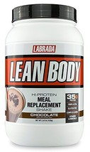 LABRADA Nutrition – Lean Body High Protein Meal (2.47 Pound|Chocolate) - $49.65