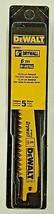 "DeWalt DW4851 6"" x 6 TPI Drywall Bi-Metal Reciprocating Saw Blades 5 Pack - $5.94"